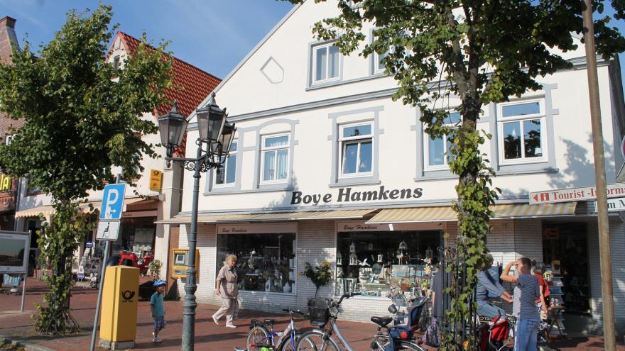 Boye Hamkens - Der Laden am Markt